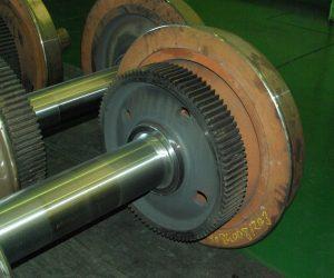 Bogey Wheel Repair