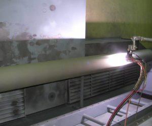 Plasma Spray Chrome Oxide