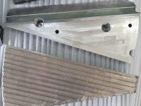 Wood Chip Segments CNC Manufactured
