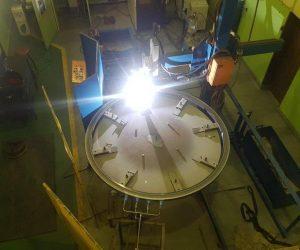 P.T.A. Welding 3.5m Wear Rings